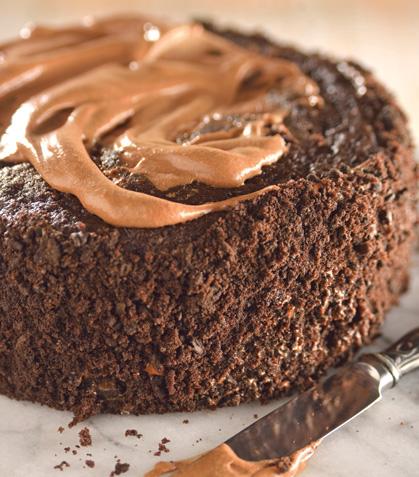 Pastel de chocolate empanizado