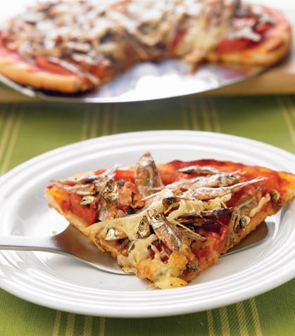 Pizza de charales