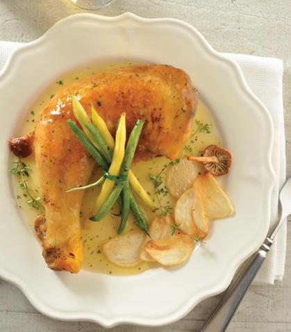 Pollo en su jugo