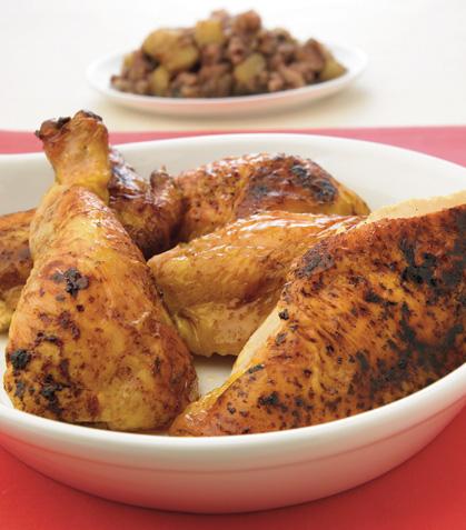 Pollo horneado