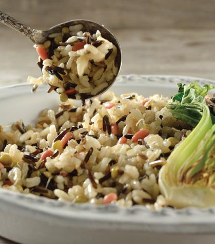Quinoa con arroz salvaje