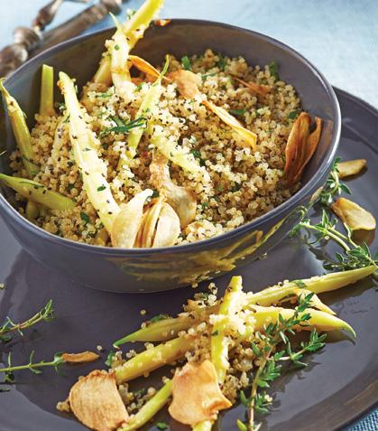 Quinoa con ejotes
