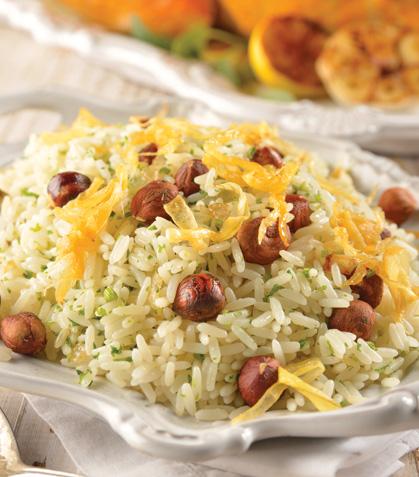 Relleno de arroz