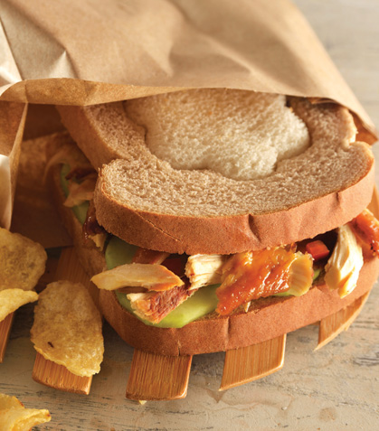 Sándwich bicolor