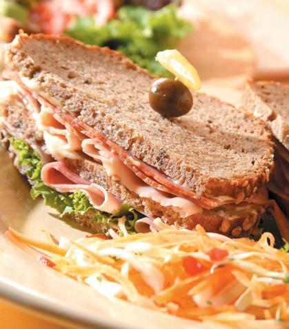 Sándwich de centeno