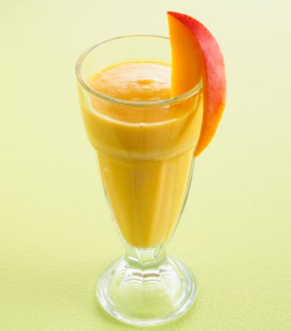 Smoothie sabor mango con linaza