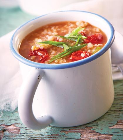 Sopa bulgur chili