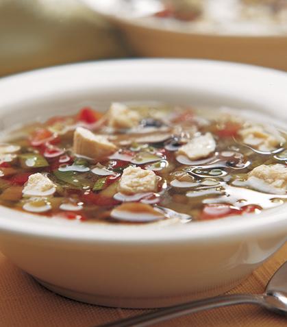 Sopa de 5 minutos