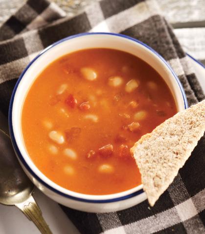 Sopa de alubias