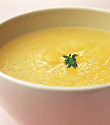 Sopa de manzana