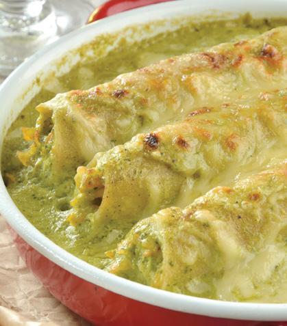 Tacos dorados verdes