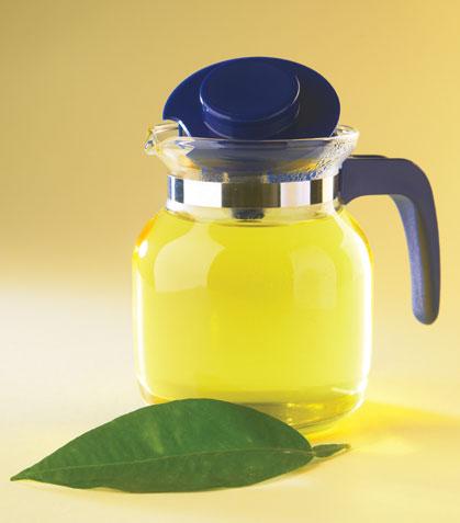 Té de limón y naranjo