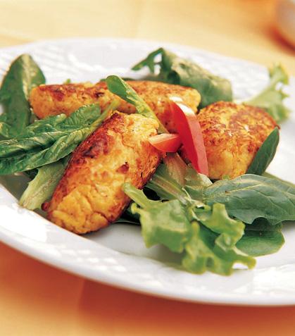 Tortitas tofu
