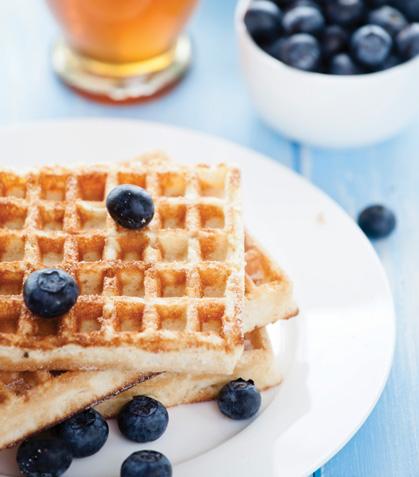 Waffles sanos