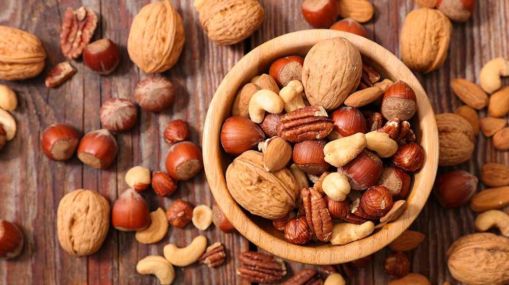 comidas saludables con mucha fibra