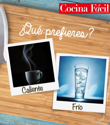 Bebidas calientes vs Bebidas frías