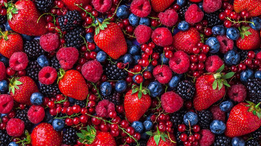 10 beneficios de los frutos rojos