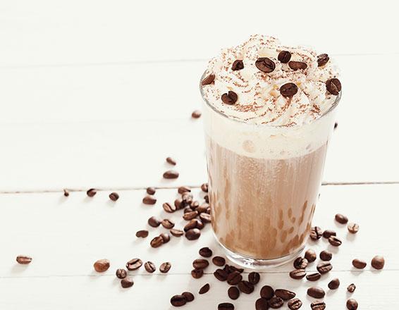 Malteada de café y vainilla