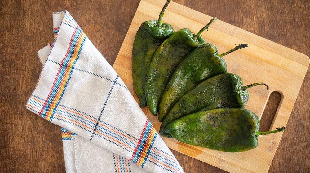 Cómo cocinar chiles poblanos