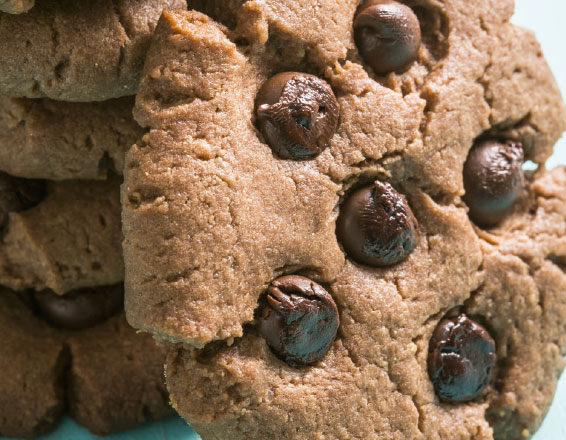 Galletas de chocolate con chispas