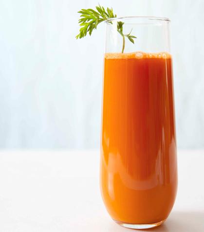 Jugo de germinado con zanahoria