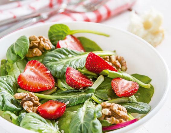 4 ideas de recetas con fresas naturales