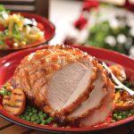Lomo de cerdo en salsa de durazno