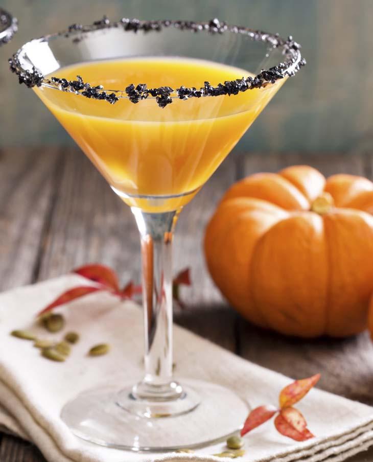 Martini de calabaza