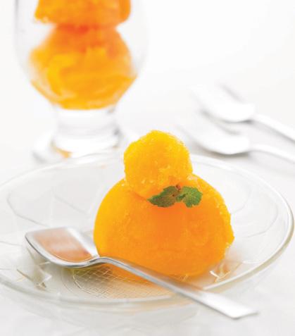 Nieve de mandarina