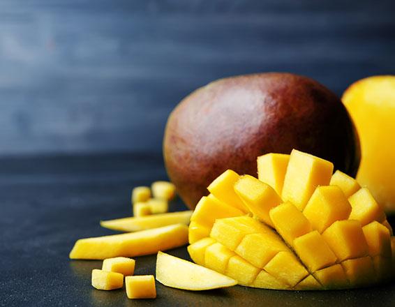 Recetas de comida con mango