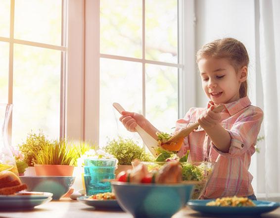 Recetas para niños en Cuaresma
