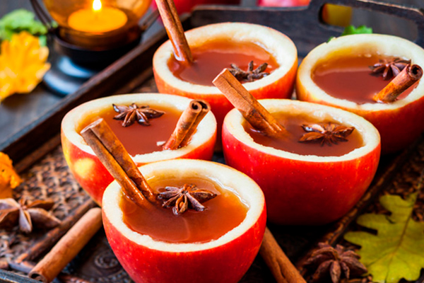 Bebidas calientes para el otoño