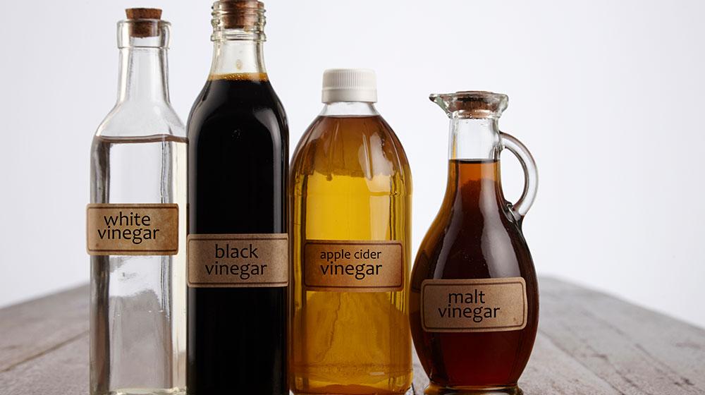 Tipos de vinagre y su uso
