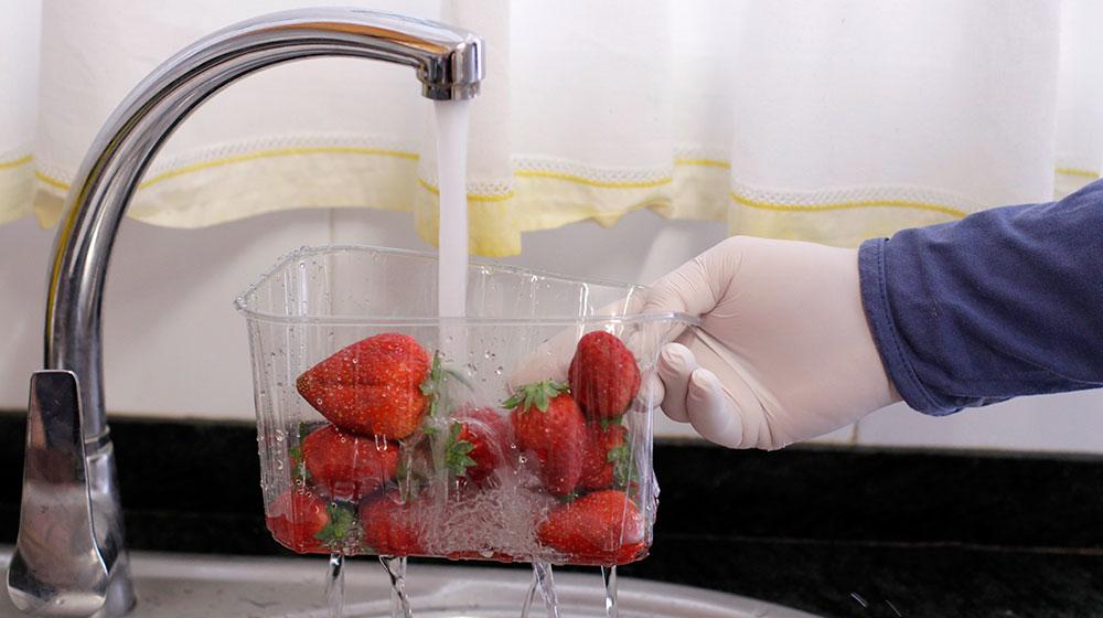Cómo desinfectar fresas