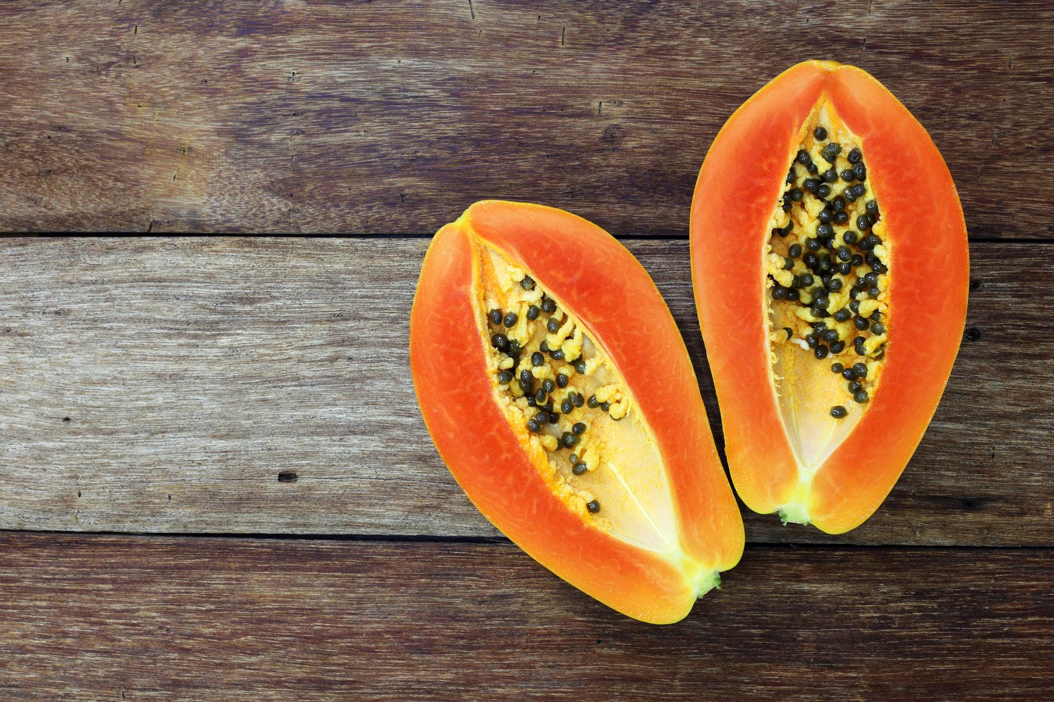pros y contras de la papaya