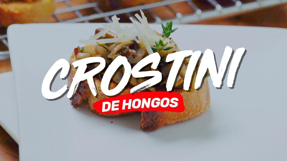 Crostini Hongos