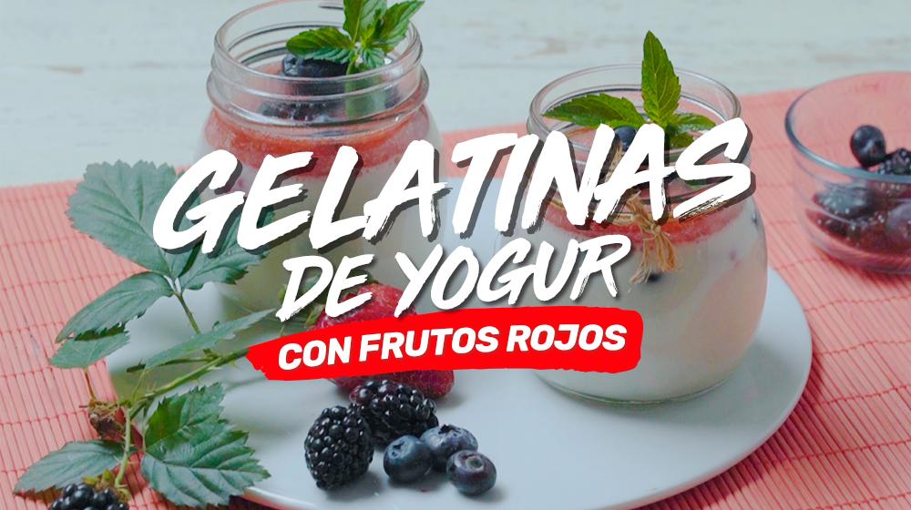 Gelatinas de yogur