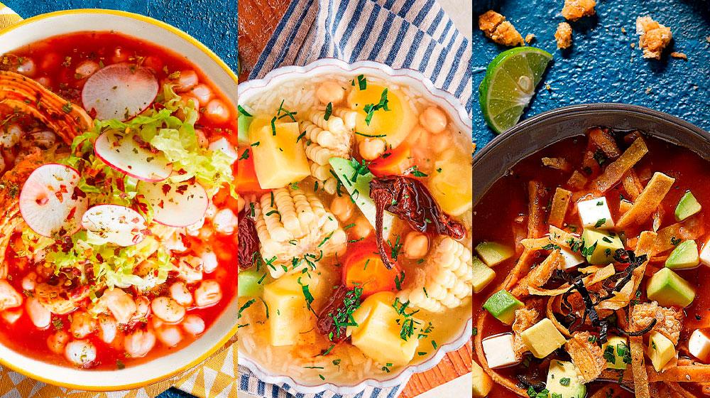 Caldos, cremas yn sopas mexicanas