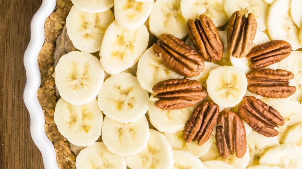 Receta de Pay de Queso y Plátano