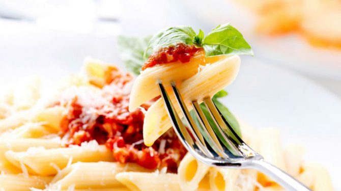 Pasta- Perder grasa sin dejar de comer