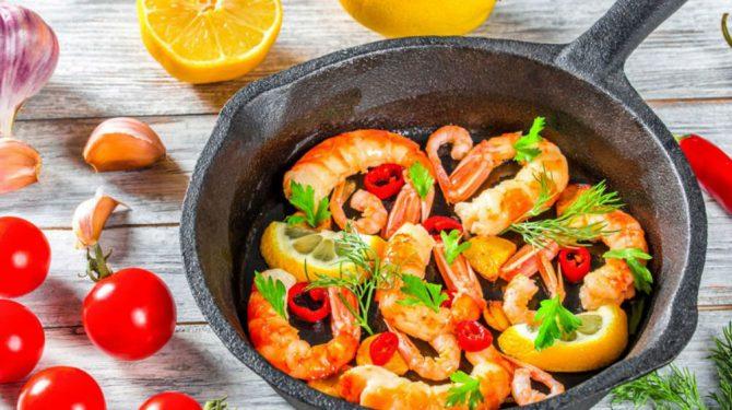 camarones- Proteína para la pérdida de grasa
