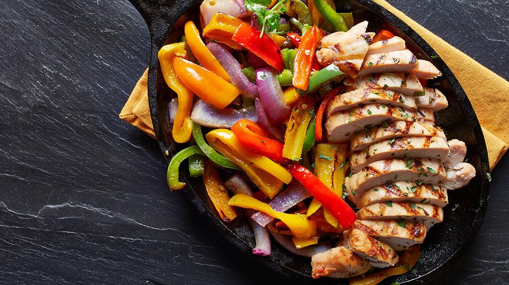 receta pechuga de pollo y verduras
