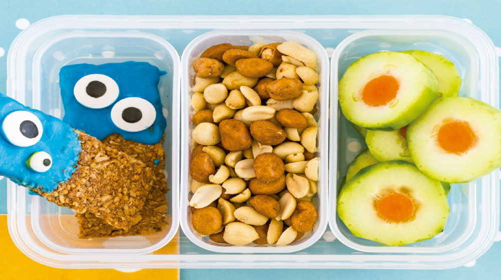 Idea de lunch para niños de primaria