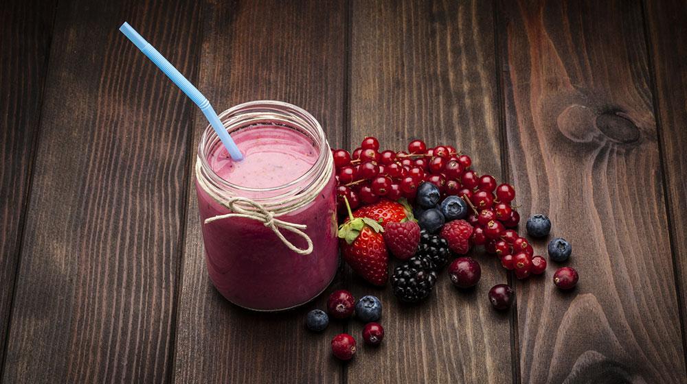 Batidos de frutas y verduras para una buena salud