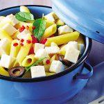Ensalada mediterranea con pasta