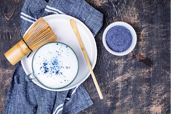 matcha azul