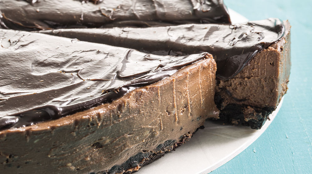 Cheesecake de avellana