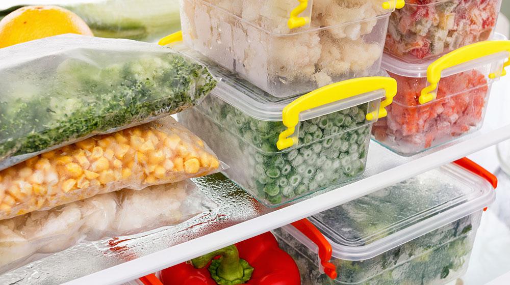 Guía para congelar alimentos