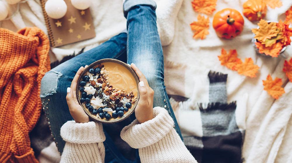 Alimentación saludable en otoño