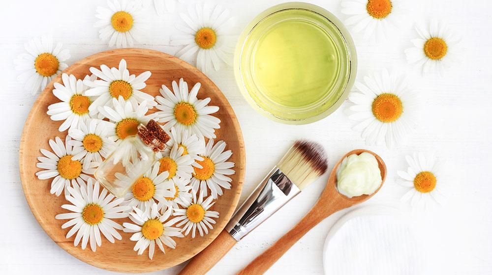 Beneficios de la manzanilla para la piel